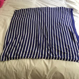 Lilly pulitzer striped wrap